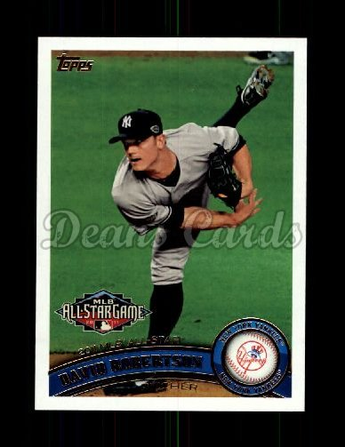 2011 Topps Update #130  David Robertson