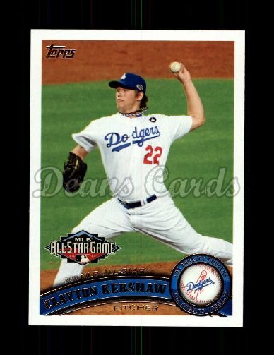 2011 Topps Update #140  Clayton Kershaw