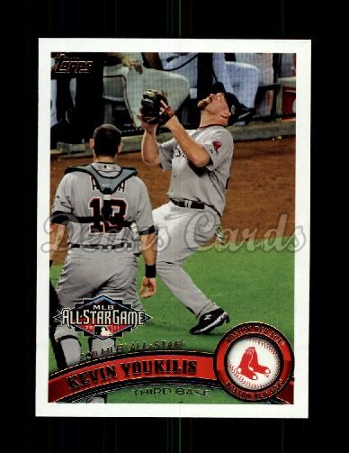 2011 Topps Update #144  Kevin Youkilis