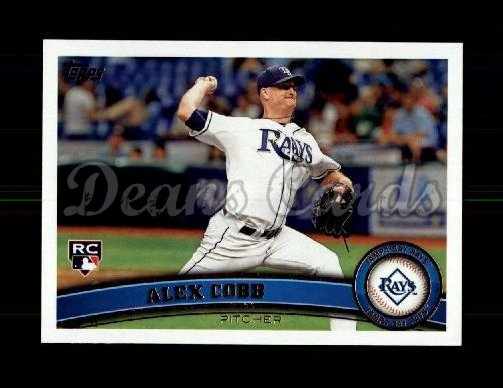 2011 Topps Update #159  Alex Cobb