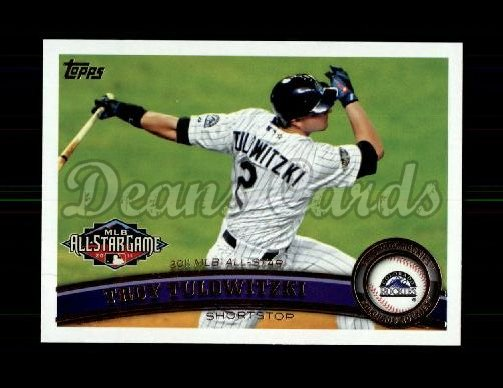 2011 Topps Update #162  Troy Tulowitzki