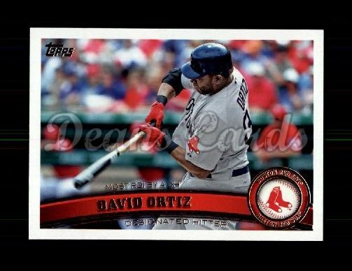 2011 Topps Update #166  David Ortiz