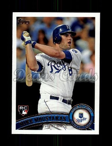 2011 Topps Update #192  Mike Moustakas