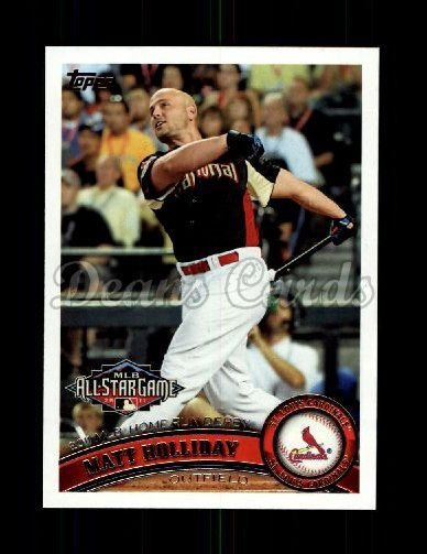 2011 Topps Update #242  Matt Holliday