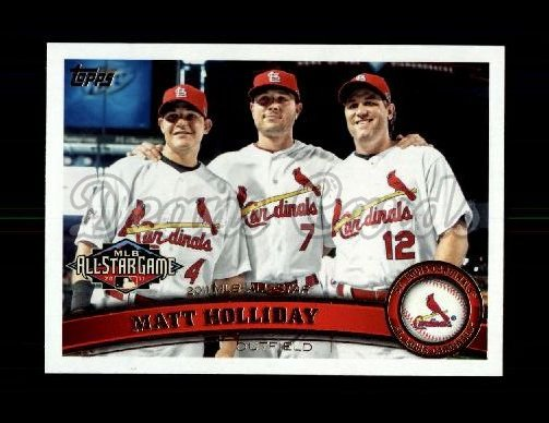 2011 Topps Update #260  Matt Holliday