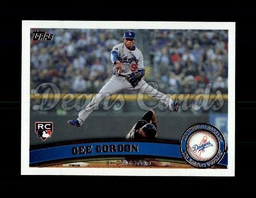 2011 Topps Update #329  Dee Gordon