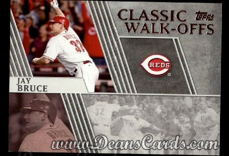 2012 Topps Classic Walk-Offs Inserts #5 CW  -  Jay Bruce 9/28/2010