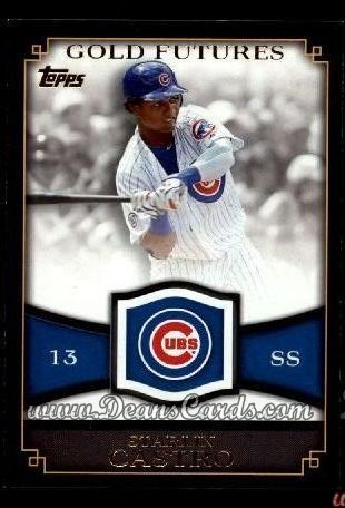 2012 Topps Gold Futures Inserts #7 GF  -  Starlin Castro Gold Futures