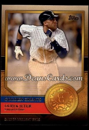 2012 Topps Golden Greats #29   -  Derek Jeter Dinger Drought Ends
