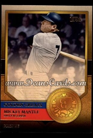 2012 Topps Golden Greats #32   -  Mickey Mantle Pinch Me