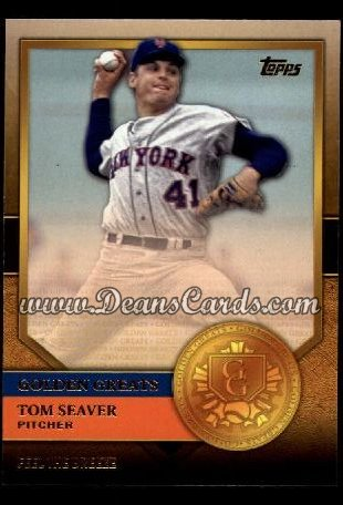 2012 Topps Golden Greats #59   -  Tom Seaver Feel The Breeze