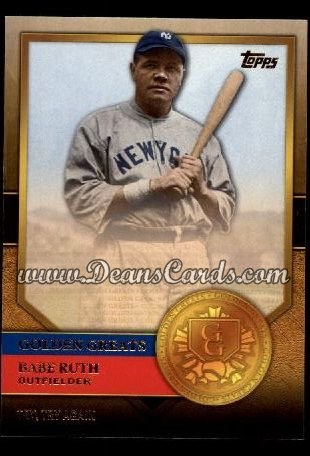 2012 Topps Golden Greats #74   -  Babe Ruth Try Try Again