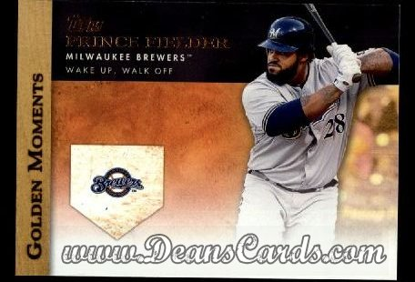 2012 Topps Golden Moments Series 1 #10 GM  -  Prince Fielder Wake UpWalk Off