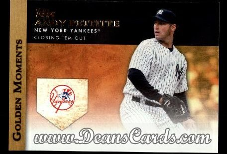2012 Topps Golden Moments Series 1 #19 GM  -  Andy Pettitte Closing 'Em Out