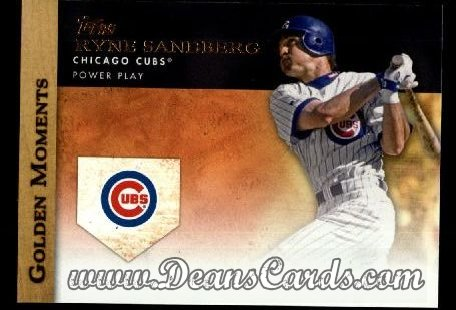 2012 Topps Golden Moments Series 1 #20 GM  -  Ryne Sandberg Power Play