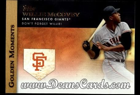 2012 Topps Golden Moments Series 1 #22 GM  -  Willie McCovey Don't Forget Willie!