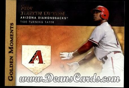 2012 Topps Golden Moments Series 1 #24 GM  -  Justin Upton Tide-Turning Tater