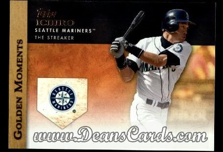2012 Topps Golden Moments Series 1 #25 GM  -  Ichiro Suzuki The Streaker