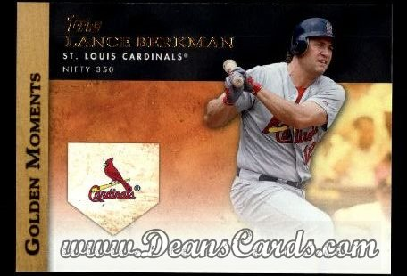 2012 Topps Golden Moments Series 1 #27 GM  -  Lance Berkman Nifty 350