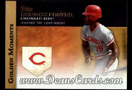 2012 Topps Golden Moments Series 1 #28 GM  -  George Foster Leading The Contingent
