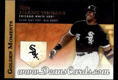 2012 Topps Golden Moments Series 1 #35 GM  -  Frank Thomas Huge Day For Big Hurt