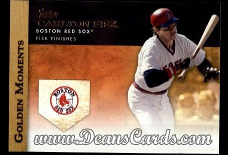 2012 Topps Golden Moments Series 1 #47 GM  -  Carlton Fisk Fisk Finishes