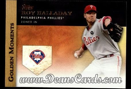 2012 Topps Golden Moments Series 1 #50 GM  -  Roy Halladay Zoned In
