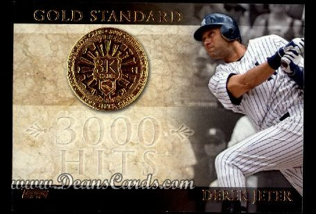 2012 Topps Gold Standard #18 GS  -  Joe DiMaggio 1,500 RBI Club