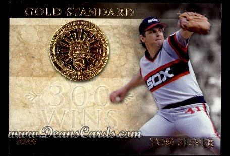 2012 Topps Gold Standard Inserts #23 GS  -  Tom Seaver 300 Win Club