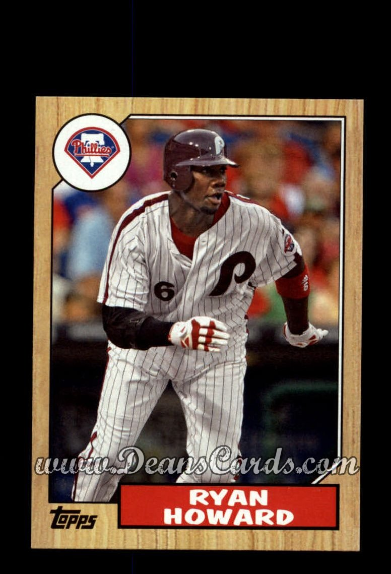 2012 Topps 1987 Minis #27  Ryan Howard