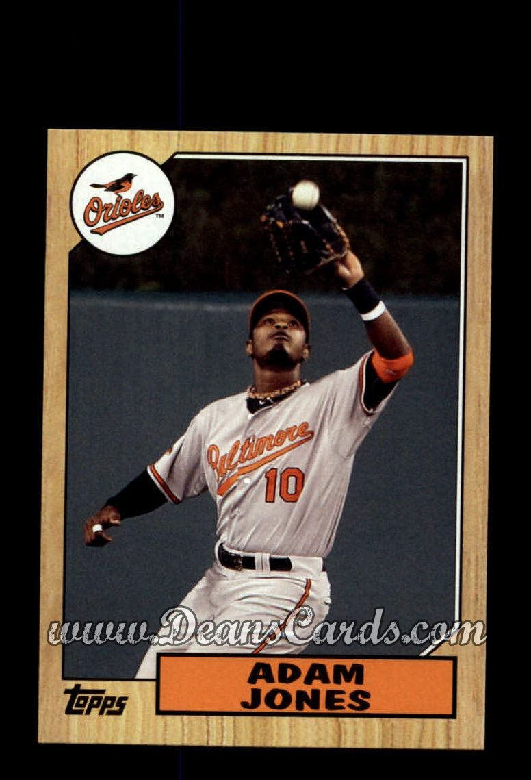2012 Topps 1987 Minis #29  Adam Jones