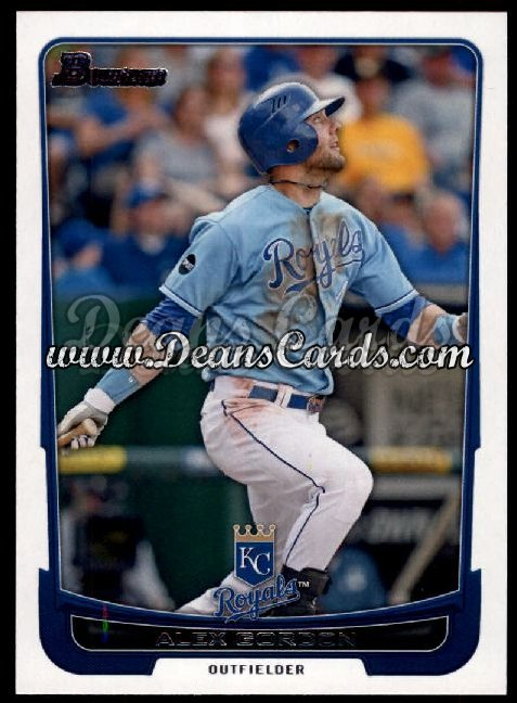 2012 Bowman #118  Alex Gordon