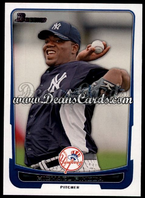 2012 Bowman #124  Michael Pineda