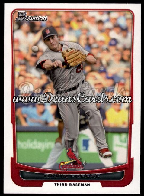 2012 Bowman #147  David Freese