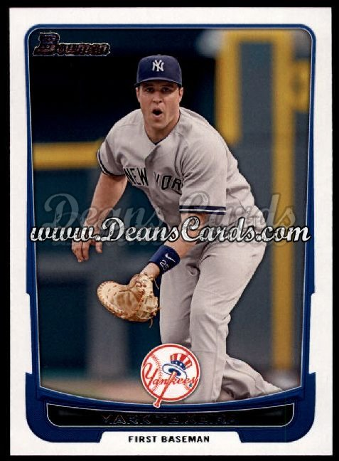 2012 Bowman #16  Mark Teixeira