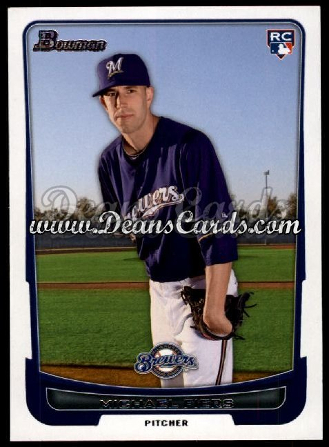 2012 Bowman #197  Michael Fiers