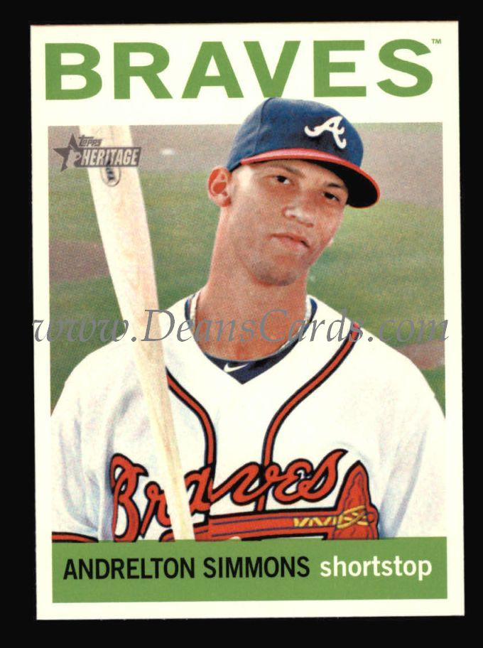 2013 Topps Heritage #22  Andrelton Simmons
