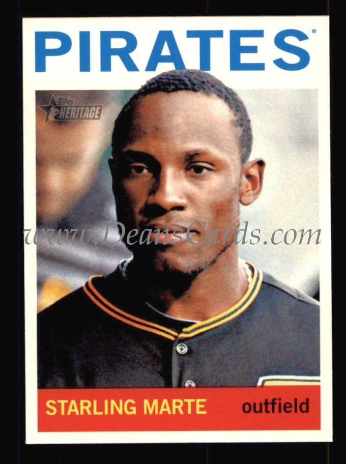 2013 Topps Heritage #62  Starling Marte