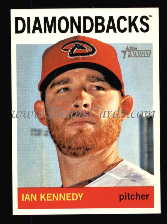 2013 Topps Heritage #185  Ian Kennedy