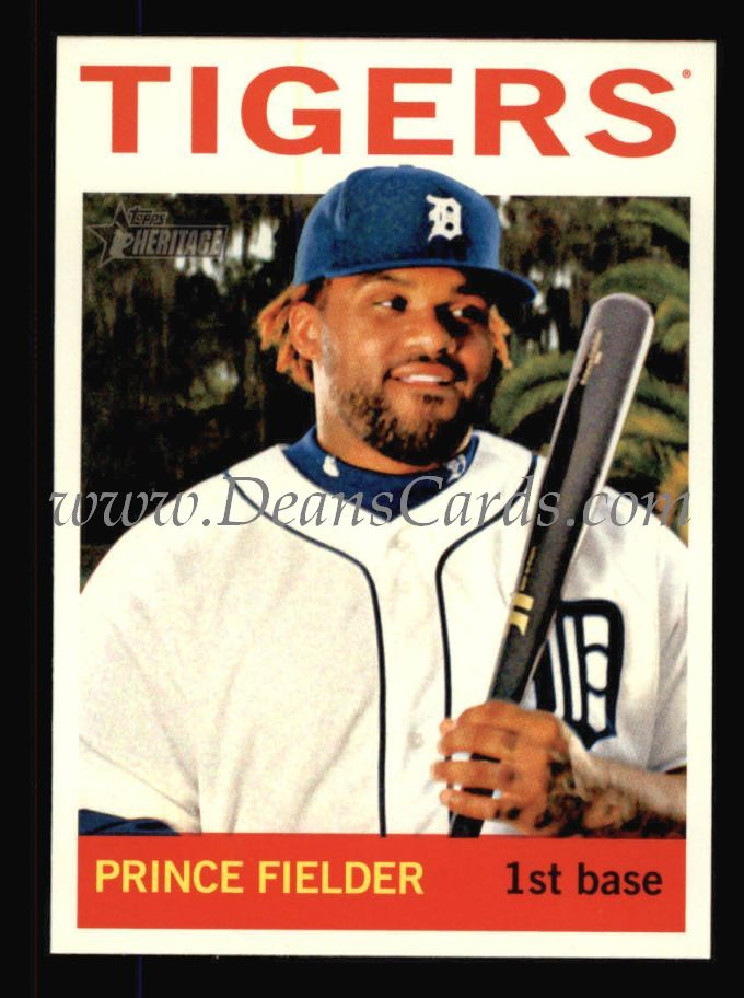 2013 Topps Heritage #250  Prince Fielder