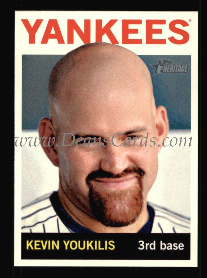 2013 Topps Heritage #275  Kevin Youkilis