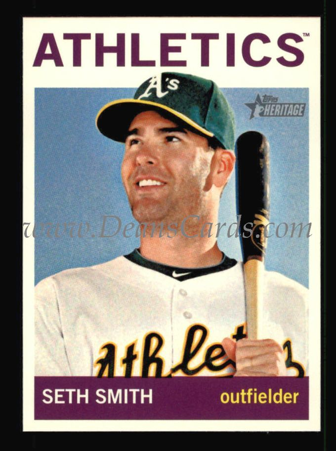 2013 Topps Heritage #277  Seth Smith