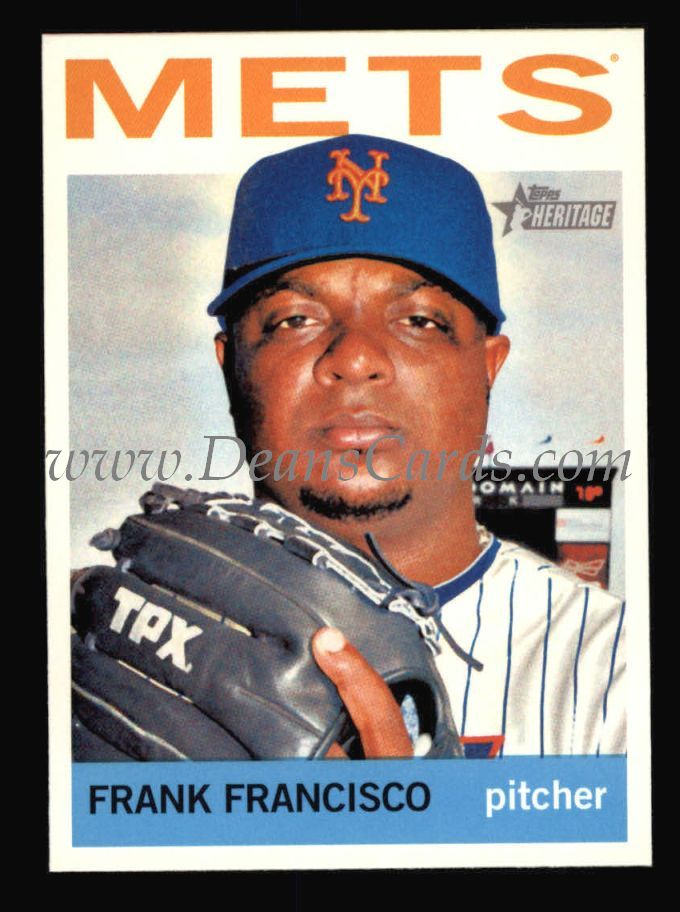 2013 Topps Heritage #389  Frank Francisco
