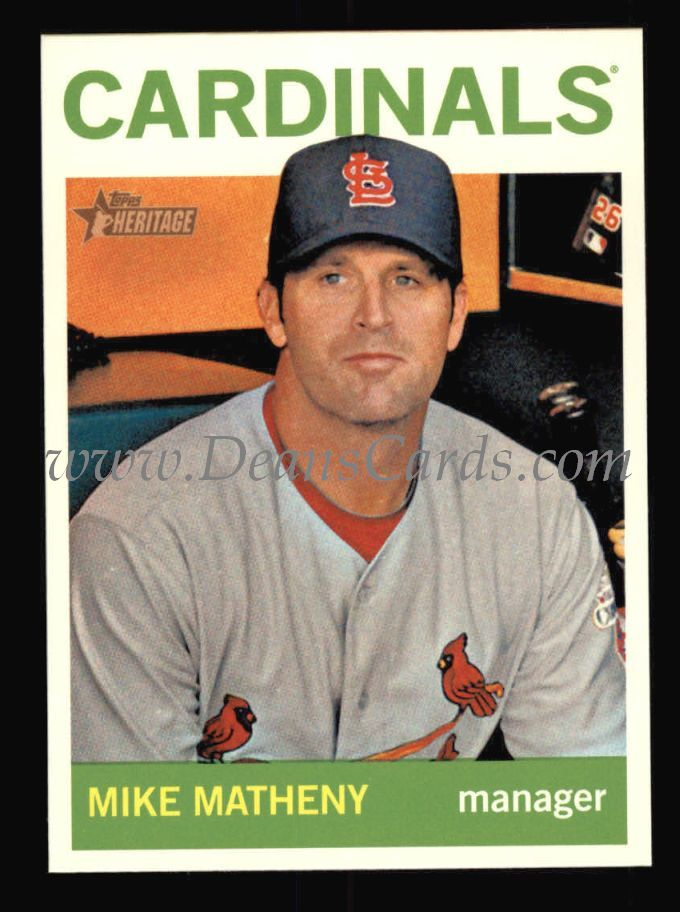 2013 Topps Heritage #413  Mike Matheny