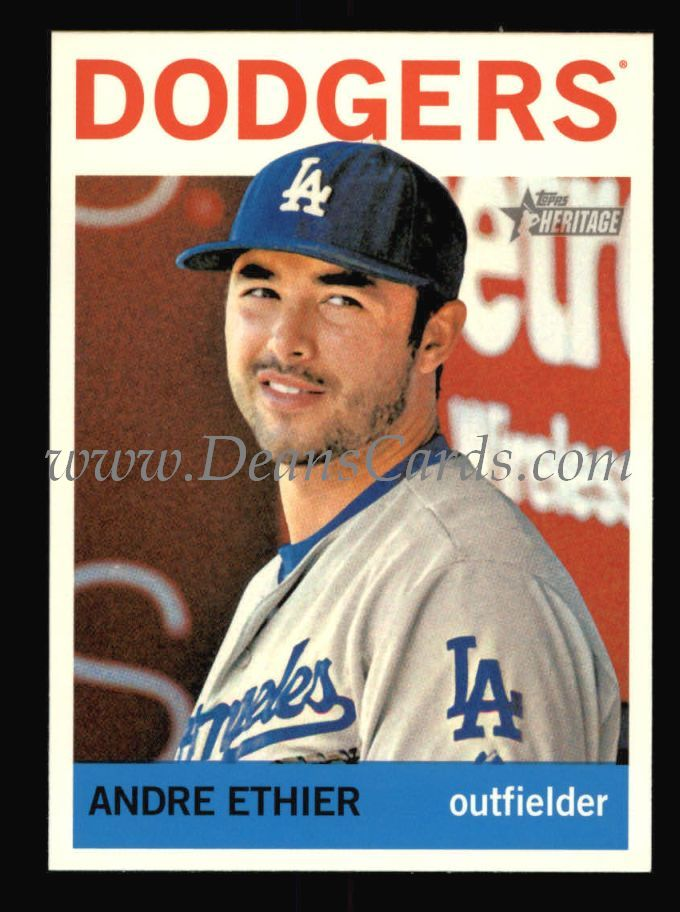 2013 Topps Heritage #427  Andre Ethier
