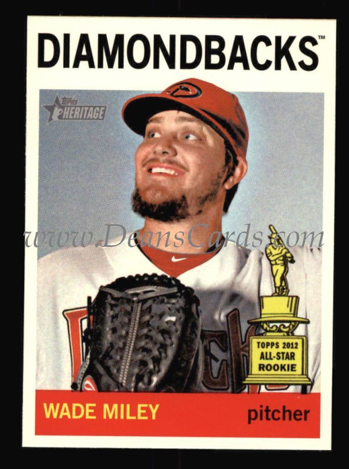 2013 Topps Heritage #474  Wade Miley
