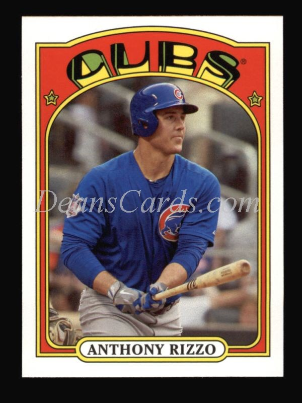 2013 Topps 1972 Minis #12  Anthony Rizzo