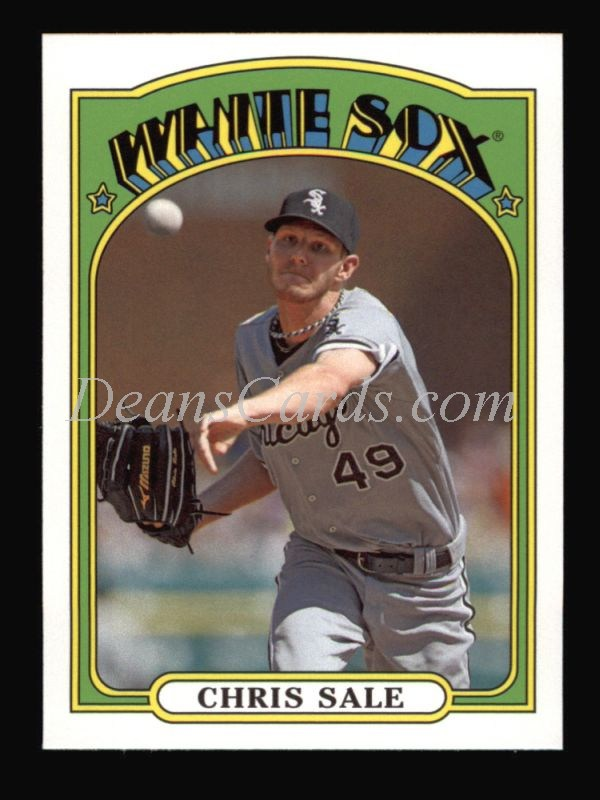 2013 Topps 1972 Minis #14  Chris Sale