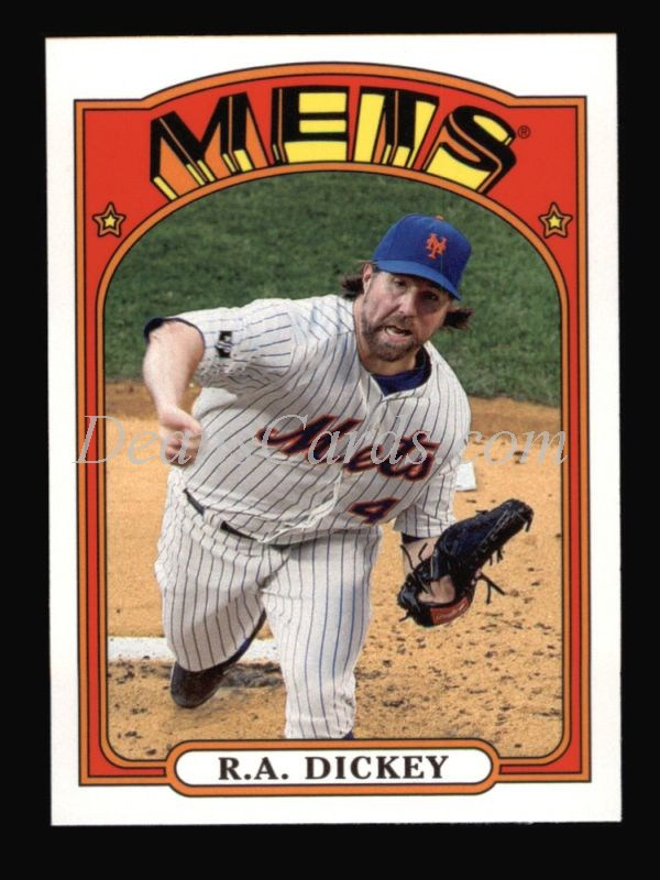 2013 Topps 1972 Minis #27  R.A. Dickey