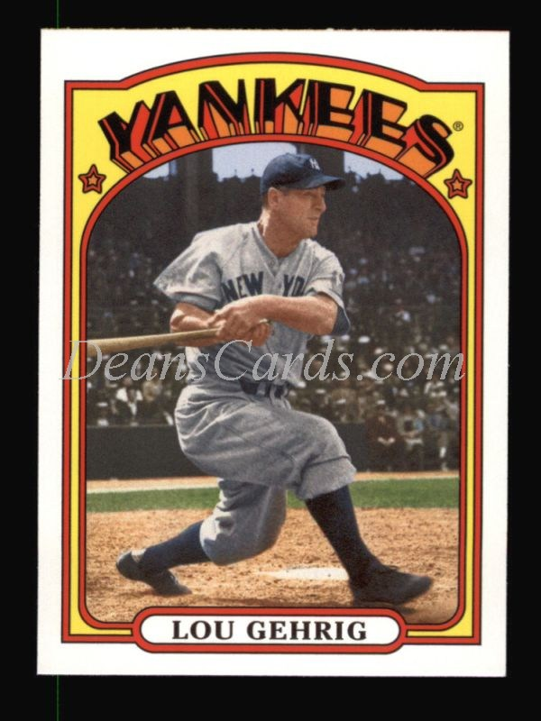 2013 Topps 1972 Minis #48  Lou Gehrig